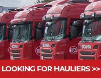 HCS is looking for hauliers